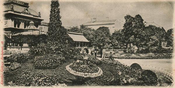 Az Erzsébet tér 1895-ben