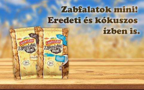 Tavaszi feltöltődés a Győri Édes Zabfalatok MINI-vel