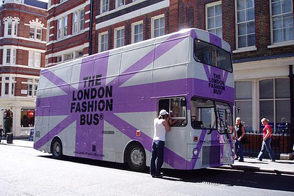 LOndon Fashion Bus