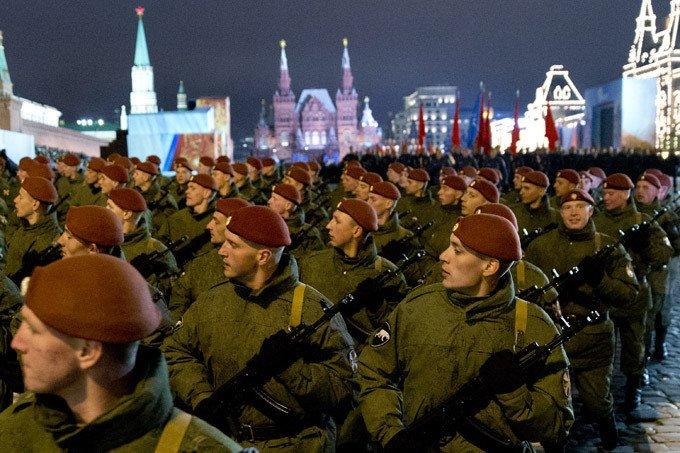 Győzelem napja a Vörös téren
