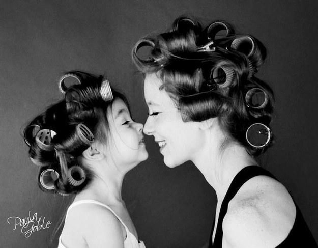 A legcukibb anya-lánya fotó