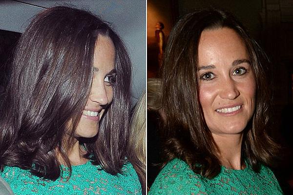 Katalin hercegné húga megváltoztatta a külsejét - képek