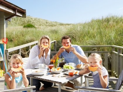 Egészséges családi nyaralás