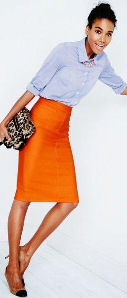 Hogyan viselj narancssárgát?