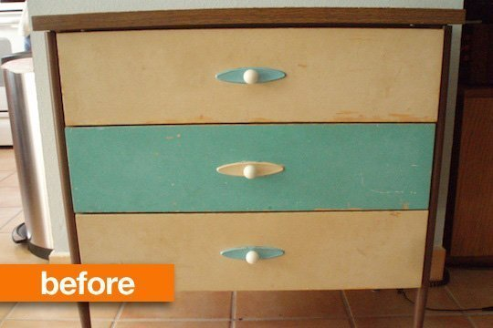Előtte és utána: fiókos szekrények megújulása