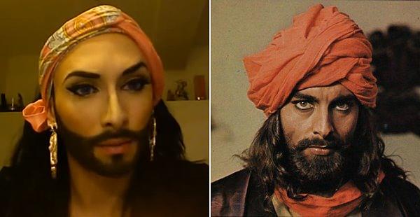 Így sminkel Conchita Wurst - videó