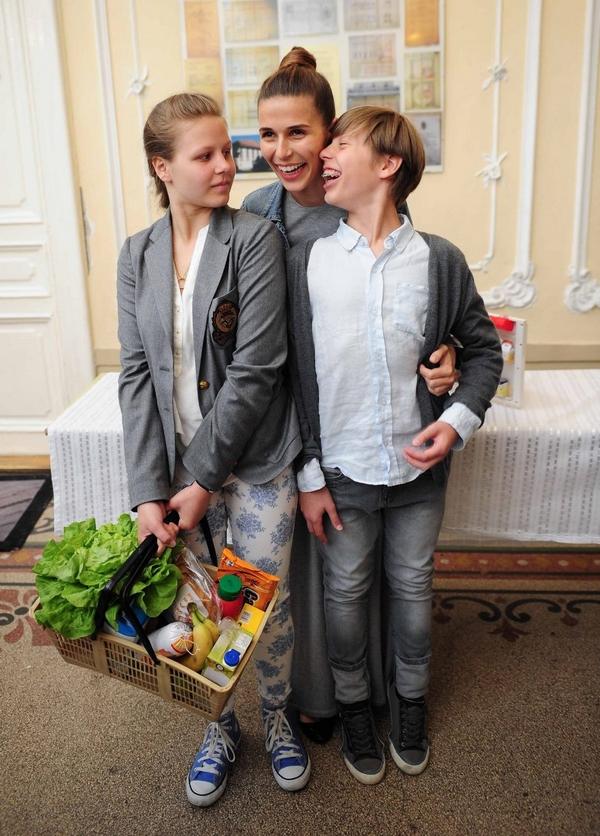 Szekeres Nóra és Sipos Peti próbára tették gyermekeiket