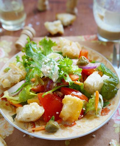 3 speckó salátaöntet