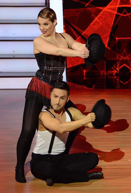 Szinetár Dóra és Angyal András (Fotó: RTL Klub)