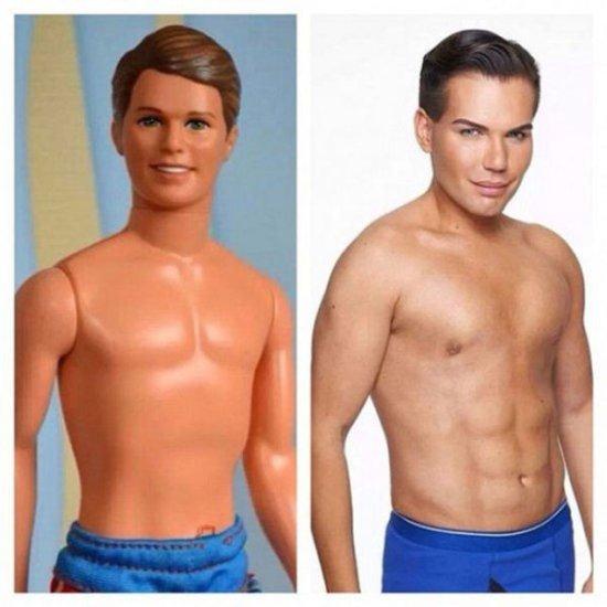 Így néz ki az élő Barbie és Ken