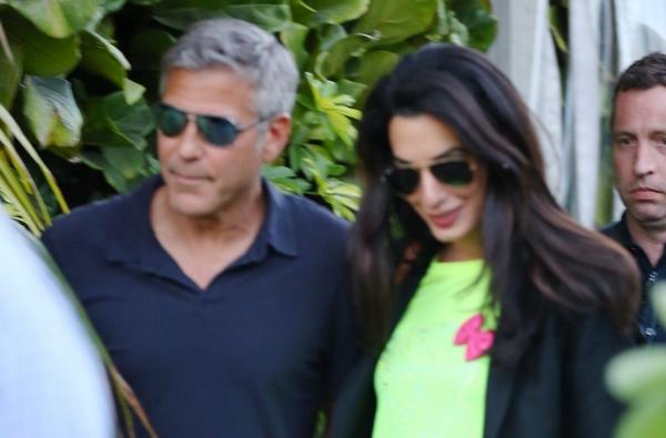 George Clooney mindent felad az asszonyért
