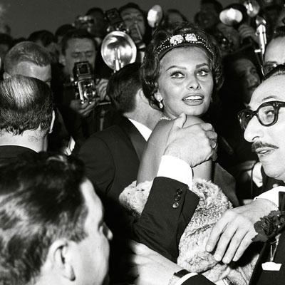 Sophia Loren az 1959-es Cannes-i Film Fesztiválon