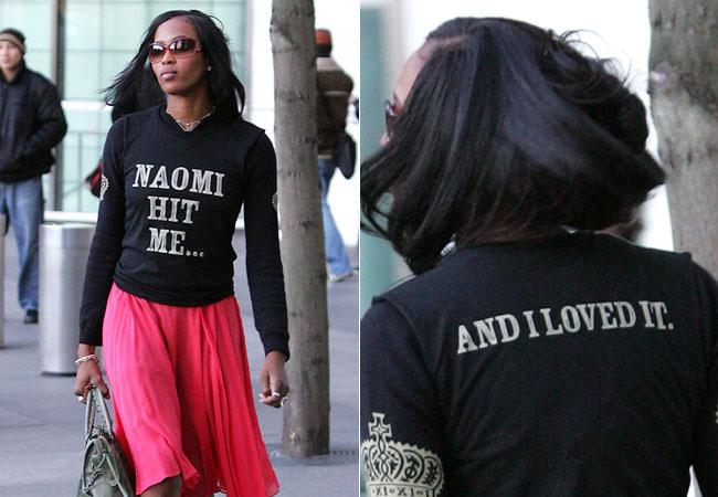 A párduc testű agresszor - Naomi Campbell 44 éves