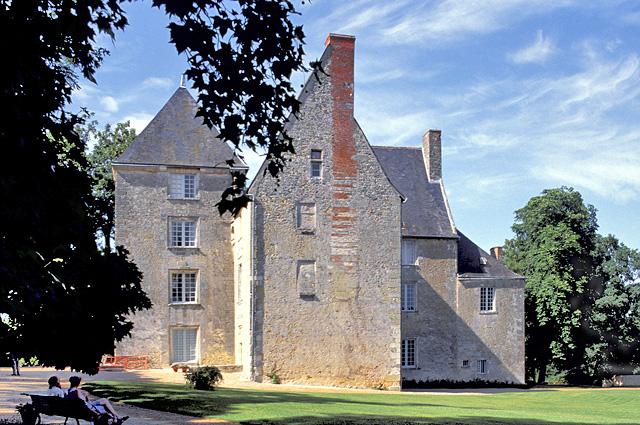 A Touraine tartományban álló Chateau de Sache kastély, Balzac otthona. Ma már múzeumként üzemel.