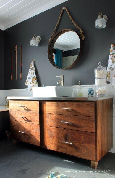 Előtte és utána: fürdőszobaátalakítás képekben
