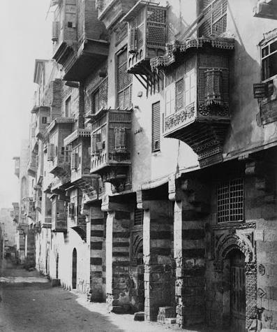 Kairó utcái 1860 körül