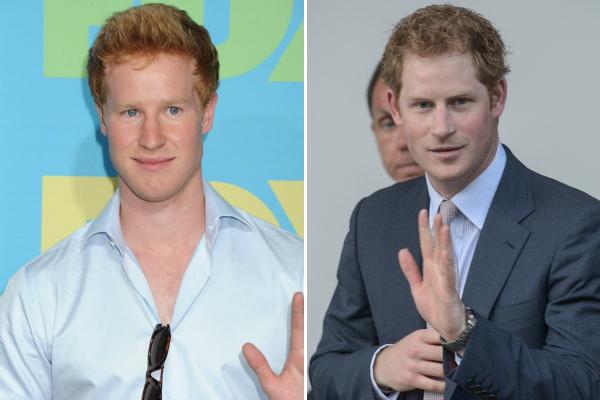 Matt Hicks, az ál-Harry és a valódi Harry herceg