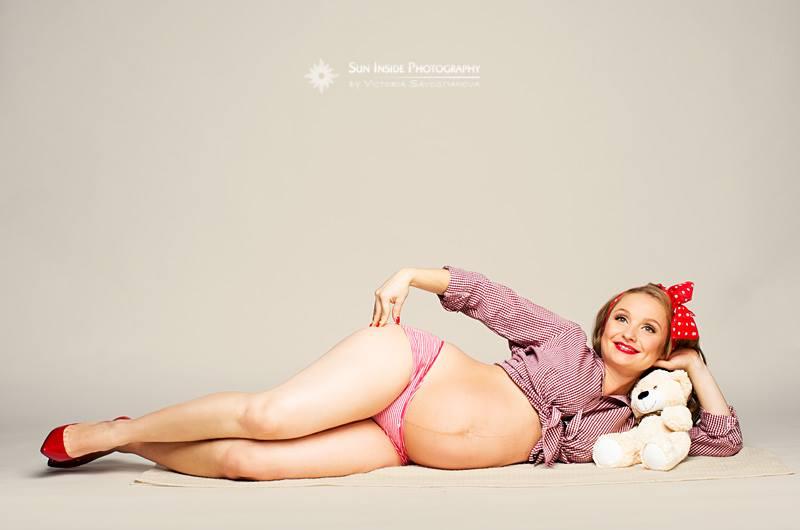 A terhes nő lehet szexi?