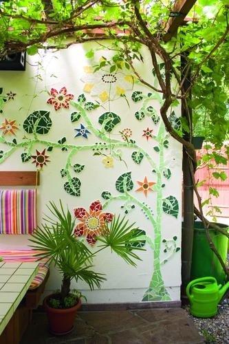 Díszítsd mozaikkal az erkélyed!