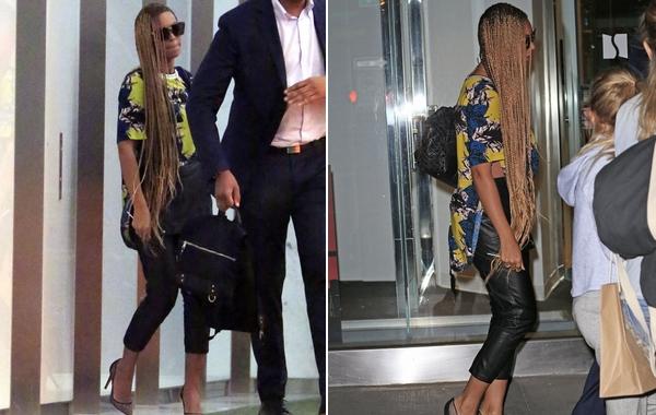 Elképesztő hajat csináltatott Beyoncé - fotó