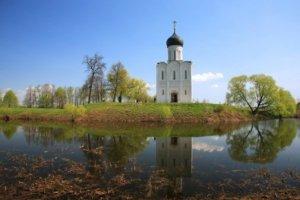 Hagymakupolás tetők Oroszországban
