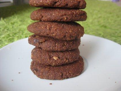Glutén- és tejmentes duplacsokis keksz