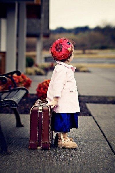 Így utaznak a gyerekek - szupercuki képek