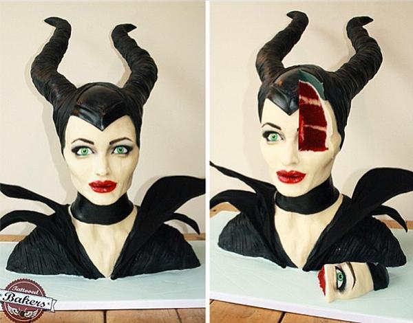 Tortát mintáztak Angelina Jolie-ról - képek