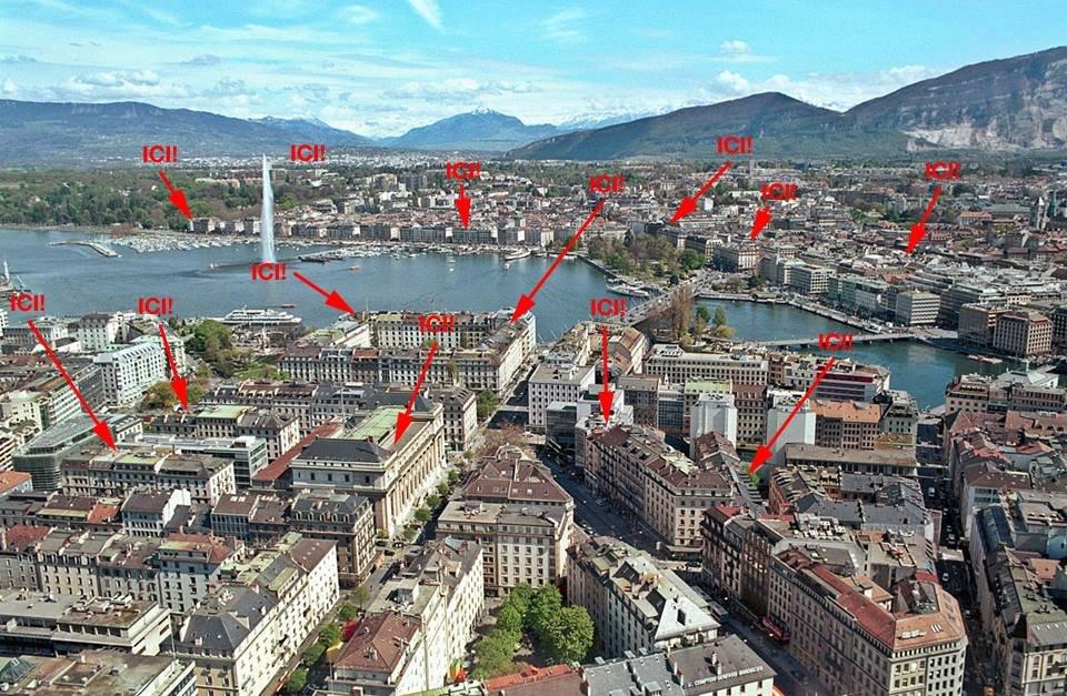 Tetőterasz buli Genfben