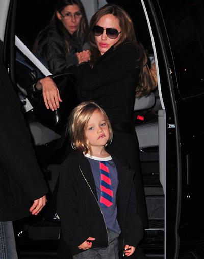 Angelina és Shiloh
