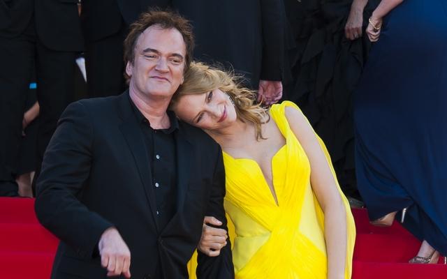 Uma Thurman és Quentin Tarantino egy pár
