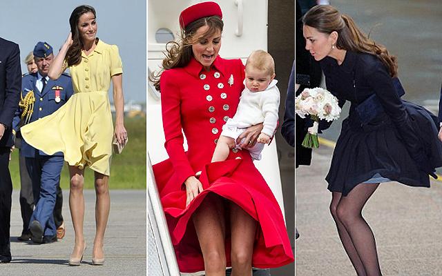 Saját testőrt kapott katalin hercegné szoknyája
