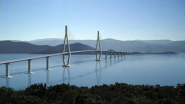 Híd köthetné össze a kettészakadt országot