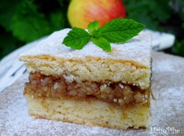 Békebeli almás pite
