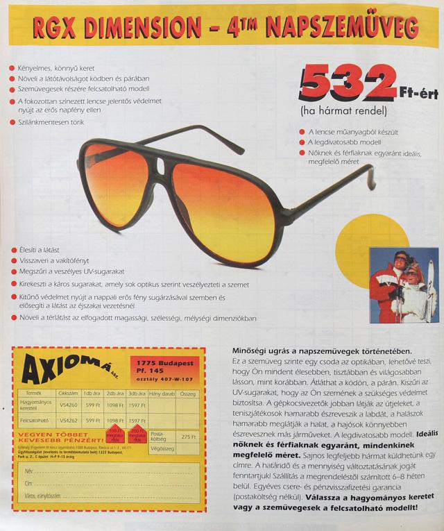 Speckó napszemüveg 532 forintért