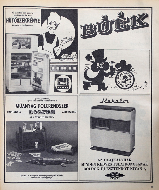 1974-ben elszabadult a DIY a műanyag cipőspolcokkal.