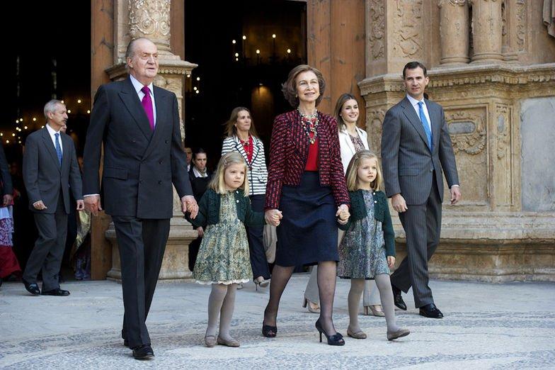 I. János Károly király, Zsófia és Leonor hercegnő, Zsófia királyi hercegnő, Letizia és Fülöp herceg