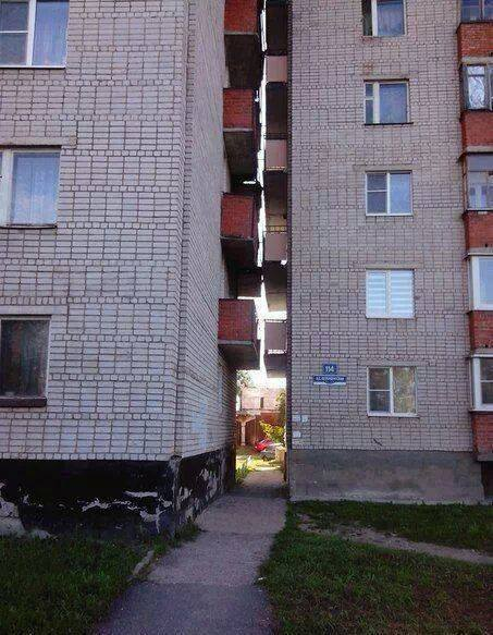 Erkély ajtó nélkül: elcseszett építészeti megoldások