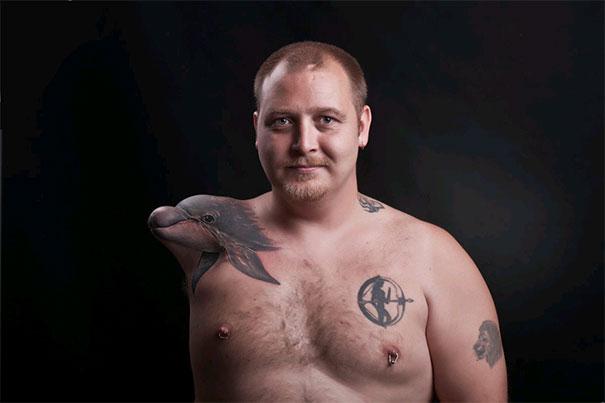 20 kreatív tetoválás, ami jó helyre került