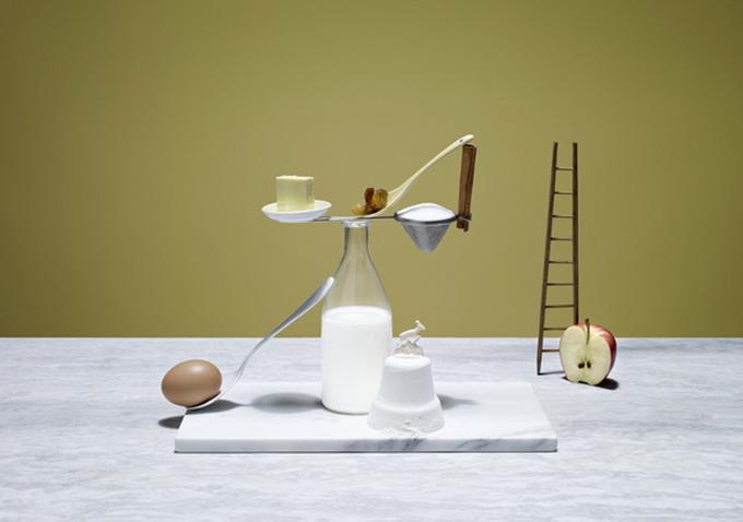Hihetetlen képek: alkottak a kajaegyensúlyozás művészei