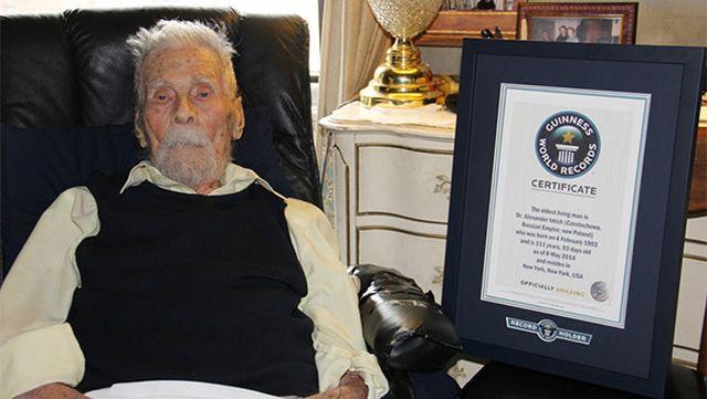 111 évesen meghalt a világ legidősebb férfija