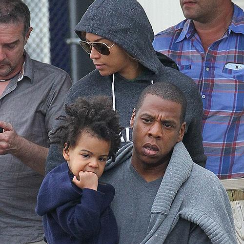 Kislányuk haja miatt támadják Beyoncét és Zay-Z-t
