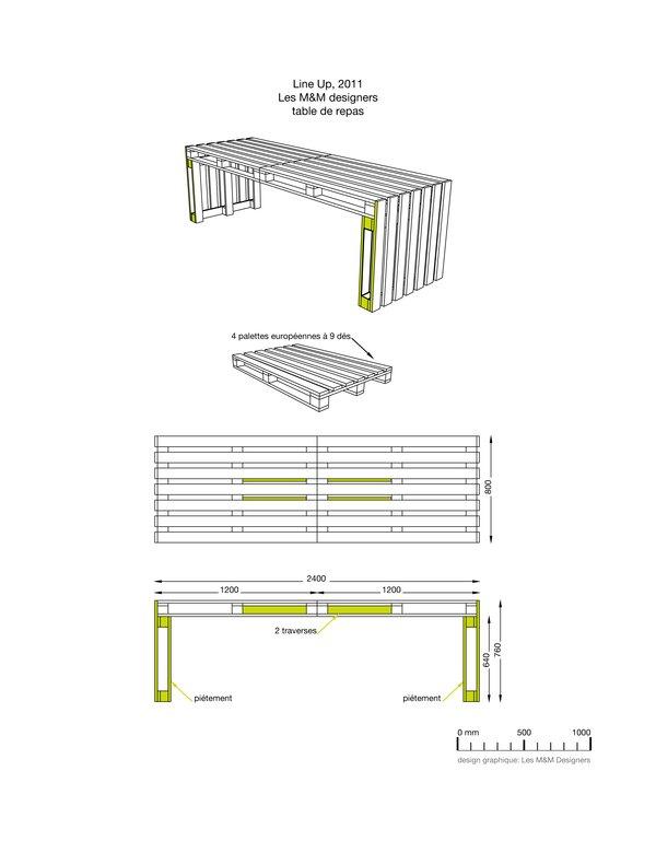 Komoly bútor is készülhet raklapokból