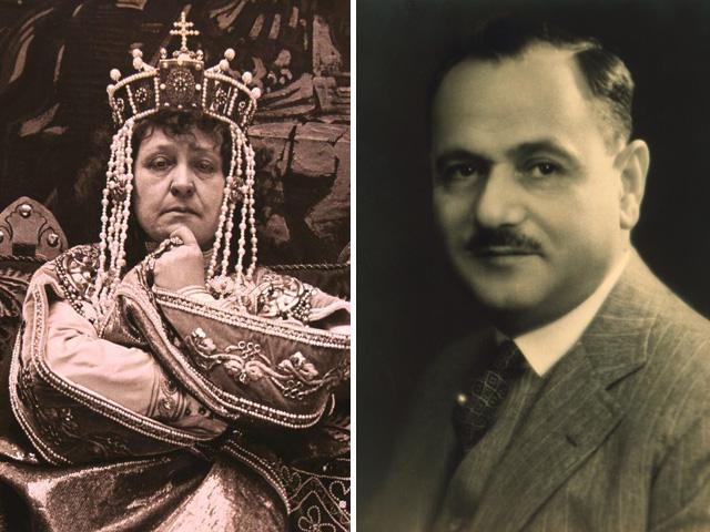 Jászai Mari és Plesch János