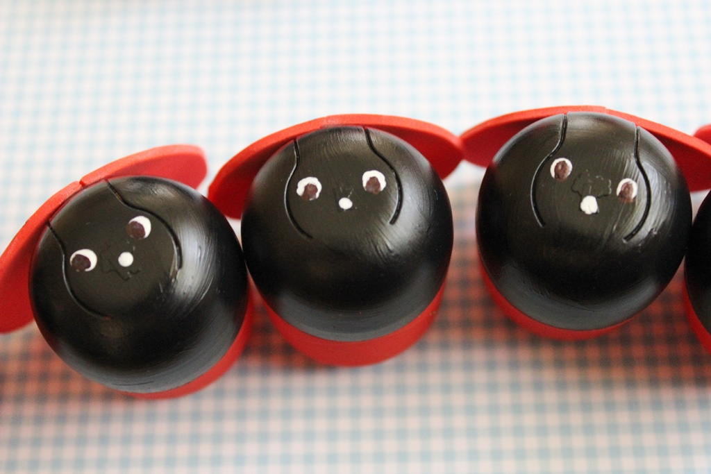 Hasznosítsd újra: imádnivaló katicák Kindertojásból