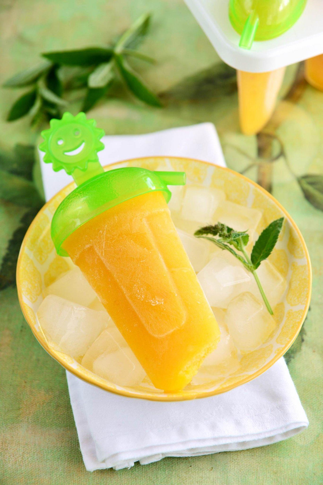 Ötperces mézes-nektarin-narancs jégkrém