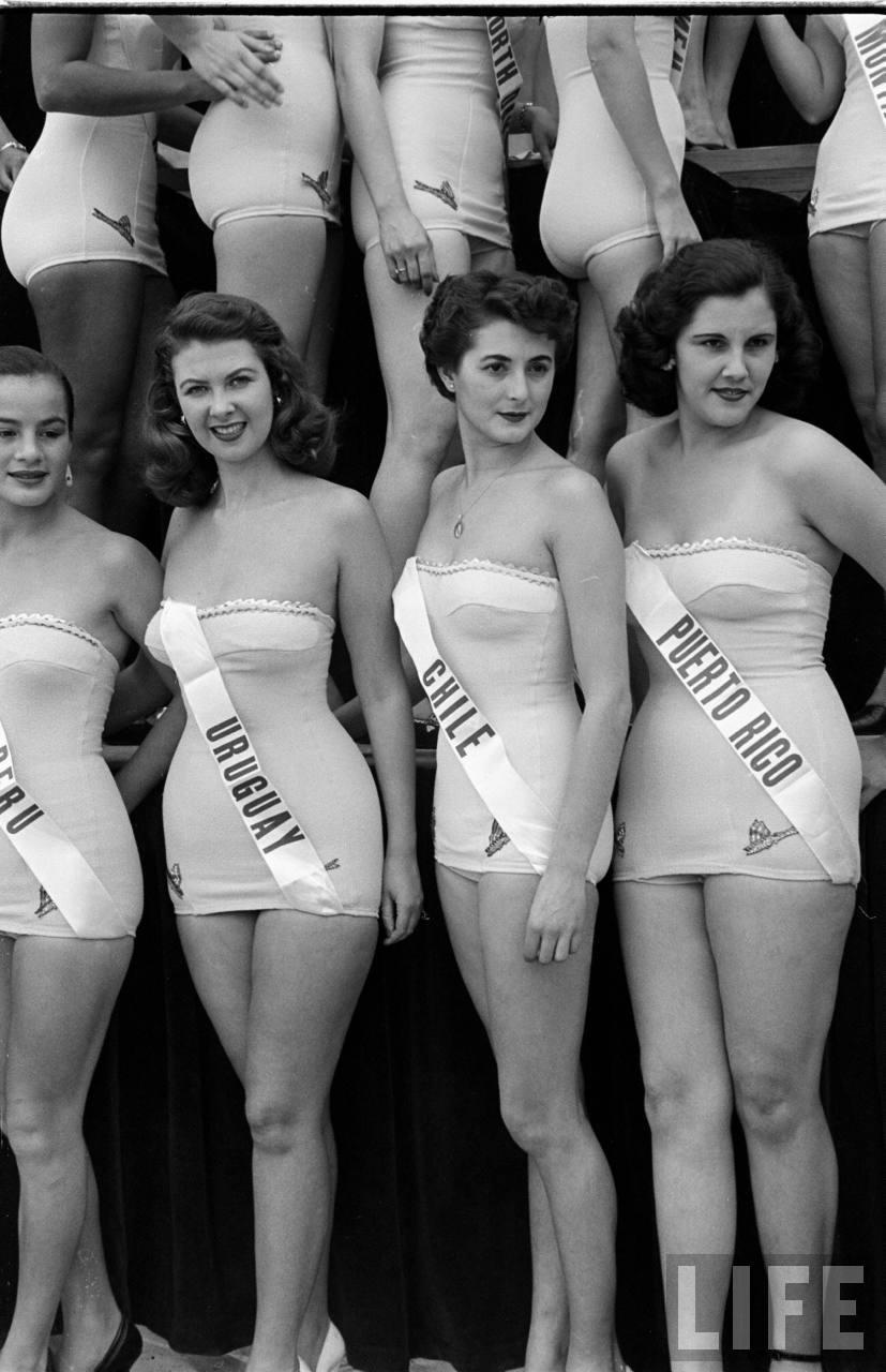 A világ első Miss Universe versenyén még simán belefért a narancsbőr