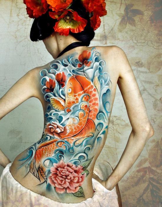 Japán tetoválás szex