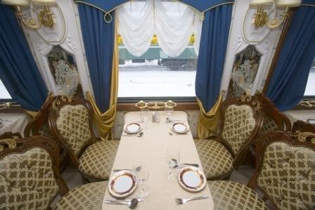 Imperial Russia - az orosz luxusvonat