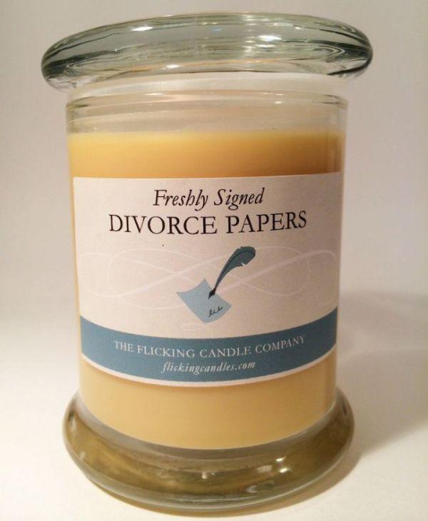 Gyertyába zárták a válás és a lemondott nyaralás illatát